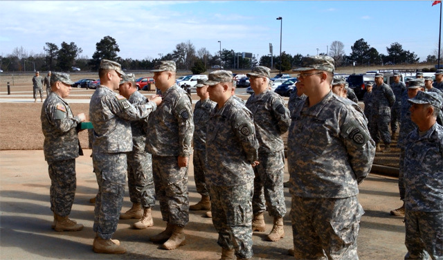 GPSTC 01MAR2014 – GSDF Special Award Ceremony, conducted by LTC Adams (GAARNG)