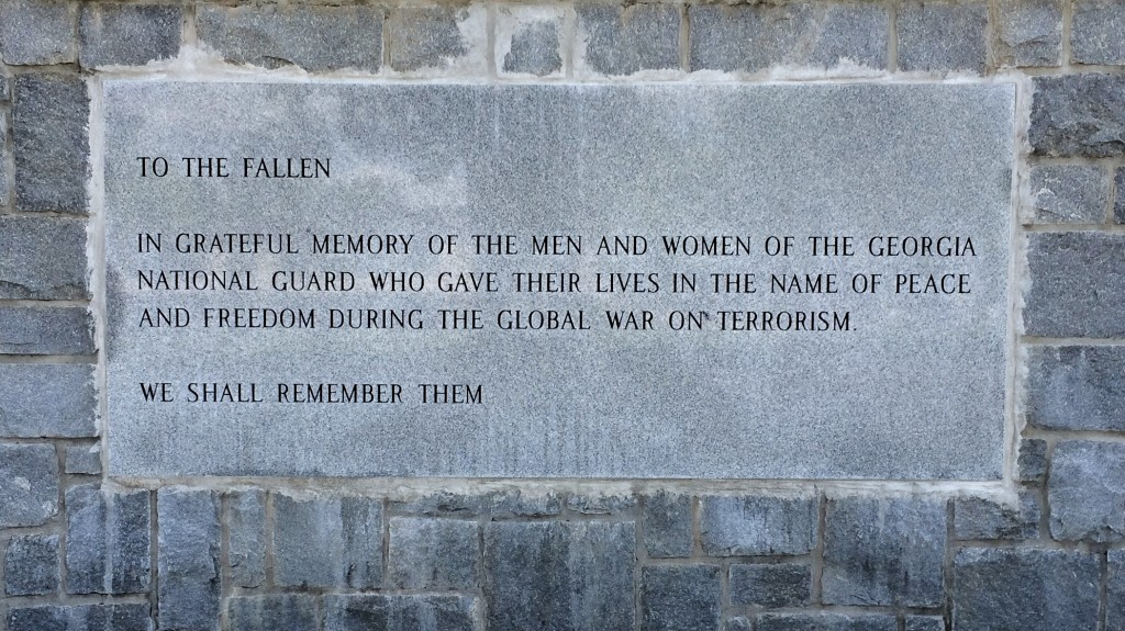 The Freedom Calls Memorial. Photo by Pvt. Michael Chapman.