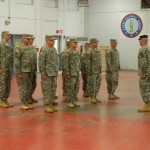 MARIETTA ARMORY, Marietta, Georgia, December 6, 2015 – Sgt. Jason Tweedell marches the recruits into the armory at the beginning of the graduation ceremony. (Georgia State Defense Force photo by Pvt. Michael Chapman, Public Affairs Office)