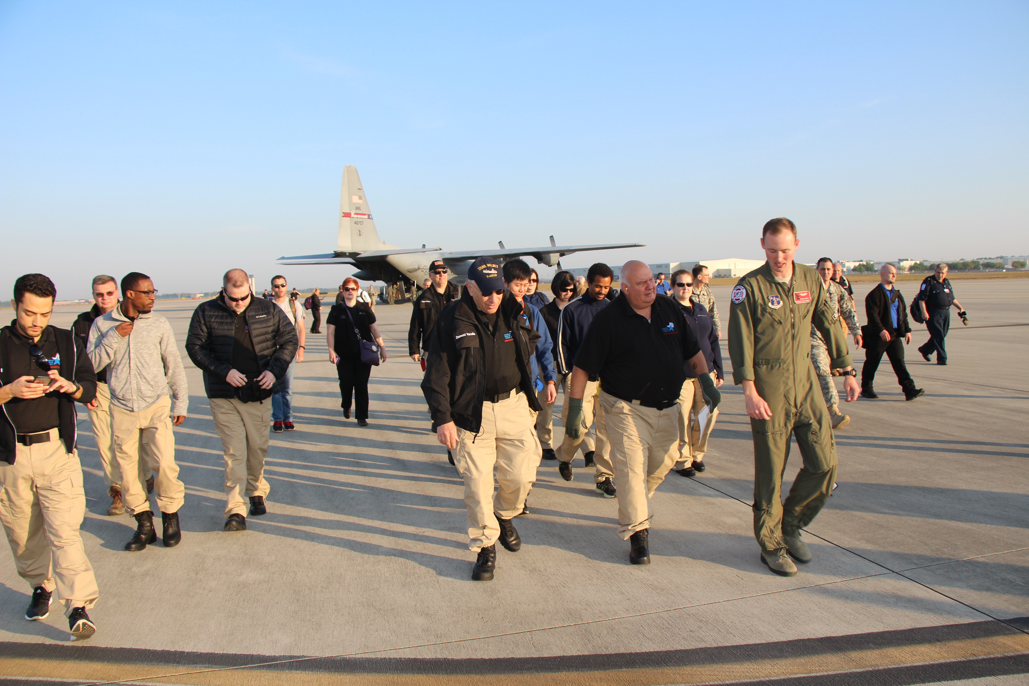Joint GA State Medical Assessment Team and GA SDF Task Force soldiers arrived March 29, 2017, to Air Dominance Center, Savannah, GA to participate in Vigilant Guard 2017 exercise. Vigilant Guard 2017 Georgia is a multi-state multi-agency training exercise, sponsored by U.S. Northern Command, in collaboration with the National Guard Bureau.  Georgia State Defense Force photo by Capt. Vadim Timchenko.
